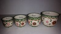 Temp-tations Temptations Old World Or Floral Lace Measuring Cups