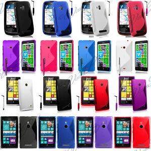 Housses-Coque-Etui-S-line-Silicone-Gel-Seri-Nokia-Lumia-520-610-625-800-920-925