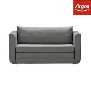 Image Is Loading Argos Home Ada 2 Seater Fabric Sofa Bed