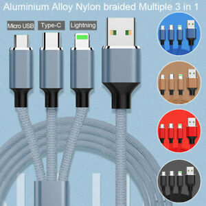 1M-2M-3-in1-Charging-charger-Cable-Micro-USB-Lightning-Type-C-IOS-Android-Phones