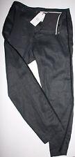 Noa Noa Hose Pants Linen Structure Black Schwarz size: 38 Neu