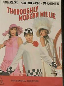 Thoroughly-Modern-Millie-Julie-Andrews-Mary-Tyler-Moore-DVD-Like-New