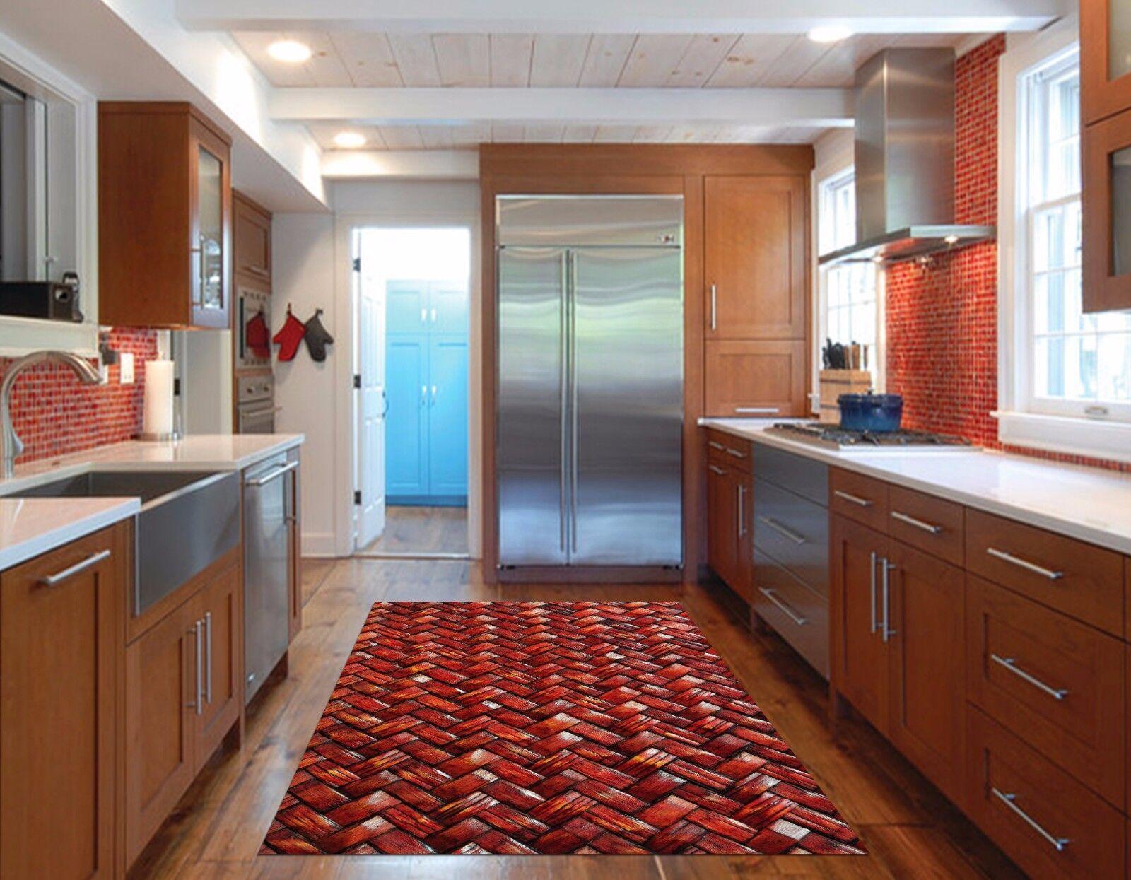 3D Weave Pattern Kitchen Mat Floor Murals Wall Print Wall Deco AJ WALLPAPER AU