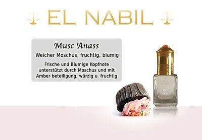 Musc Red Rose 5ml Parfum Duft El Nabil Misk Musk Moschus