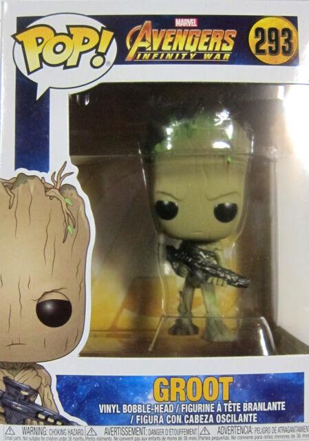 Pop Marvel Avengers Infinity War 293 Groot Funko Figur 69049 Günstig Kaufen Ebay