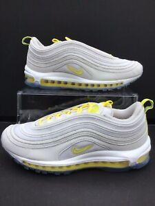 Nike Air Max 97 IGC ID Light Grey/Lemon