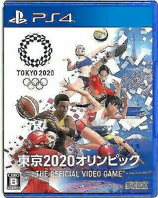 Japanese Edition SEGA Games Ps4 Tokyo 2020 Olympics The Official Video Game  for sale online | eBay