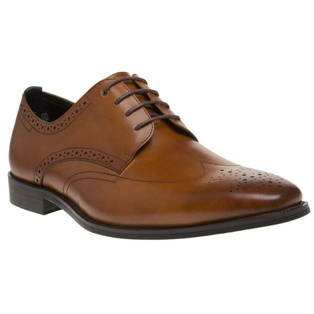 New Mens SOLE Tan Egbert Leather schuhe Brogue Lace Up Up Up 30122c
