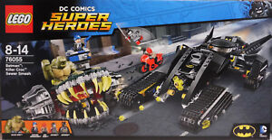 Lego Dc Super Heroes 76055 Batman Killer Crocs: Vol à L'égout Nouveau