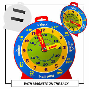Kids-Teaching-Clock-Child-Learn-To-Tell-The-Time-Boys-Girls-Educational-Game-Toy