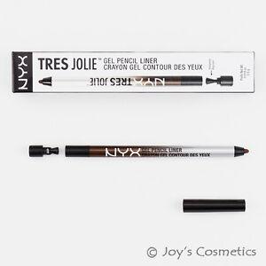 1-NYX-tres-Jolie-Gel-Lapiz-del-trazador-de-lineas-Ojo-034-TJL02-Marron-034-Cosmeticos-Joy-039-s