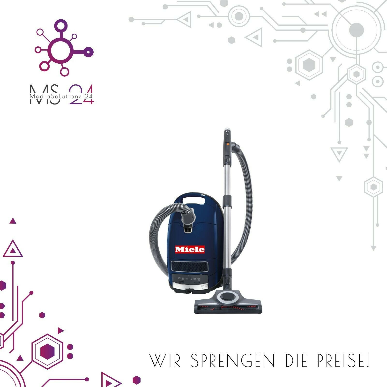 Miele Complete C3 Special PowerLine SGMF3 Bodenstaubsauger
