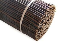 4m Long Willow Wooden Garden Screening Roll Fencing Panel