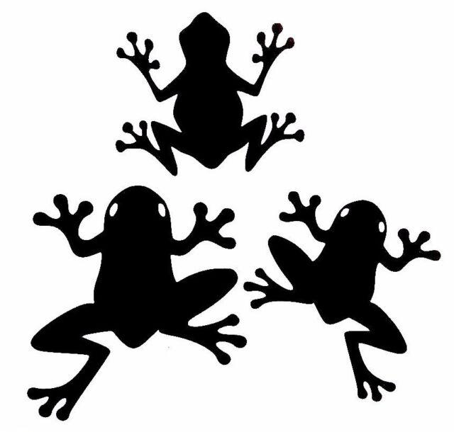 Tree Frogs Animal Car Window Vinyl Decal Sticker