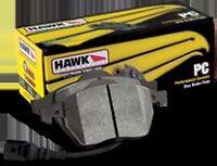 Hawk 10 Fits Hyundai Genesis Coupe Track W/ Brembo Street 14mm Rear Brake Pads
