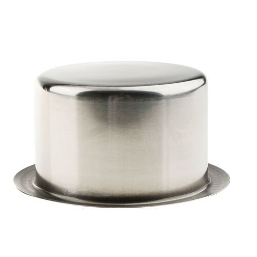 Stainless Steel Cup Drink Holder for Marine Car Truck Camper RV Polished