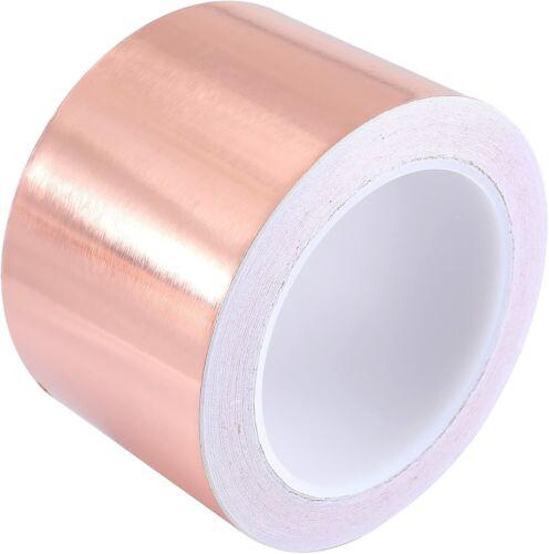 25M x 30//70mm Tape Klebeband Selbstklebend Abschirmband Kupferfolie Kupferband
