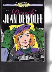 Amazing-Spider-Man-Death-of-Jan-DeWolff-TPB-1st-Print-1990-Marvel-Comics