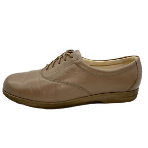 SAS-Womens-Tripad-Comfort-Shoes-Oxfords-Tan-Brown-Beige-Leather-Lace-Walking-9-5