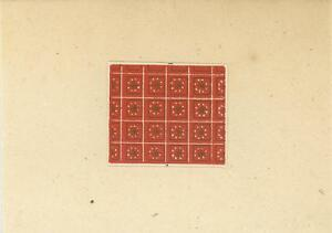 ACEO-MEDIEVAL-WALLPAPERS-GEOMETRIC-RED-PRINT-SCRAPBOOKING-ON-ANTIQUE-1803-PAPER