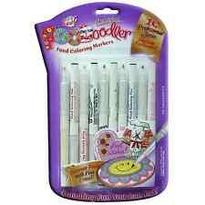 Edible Ink Marker pens Foodoodler Food colouring writer 10 Fine pack - FAST P+P
