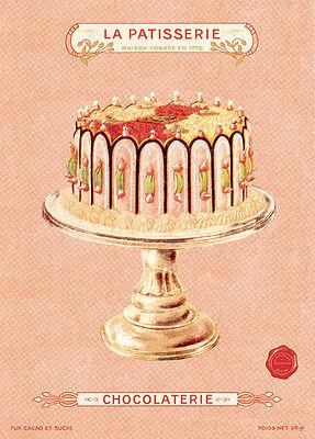 Cavallini Vintage Cake Flat Wrap