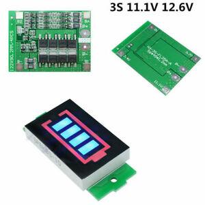 3S 12V 25a 18650 Li ion batería de litio BMS protección PCB board