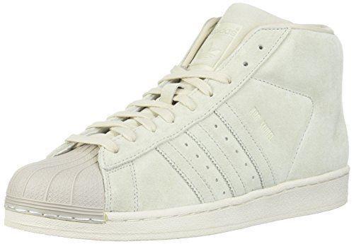 Adidas Originals Para Hombres Modelo/Negro/Blanco, Zapatillas, marrón claro PRO Modelo/Negro/Blanco, Hombres 9.5 M US 423548