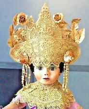 "World Gallery Pat. Loveless LE Balinese India Little Dancer 17"" Porcelain Doll"