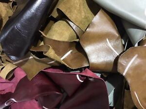 2 kilo Bag  Quality Leather Arts /& Crafts,Off Cuts,Scrap,Remnants mixed