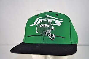 d588afffff3 Image is loading NY-Jets-Green-Baseball-Cap-Snapback