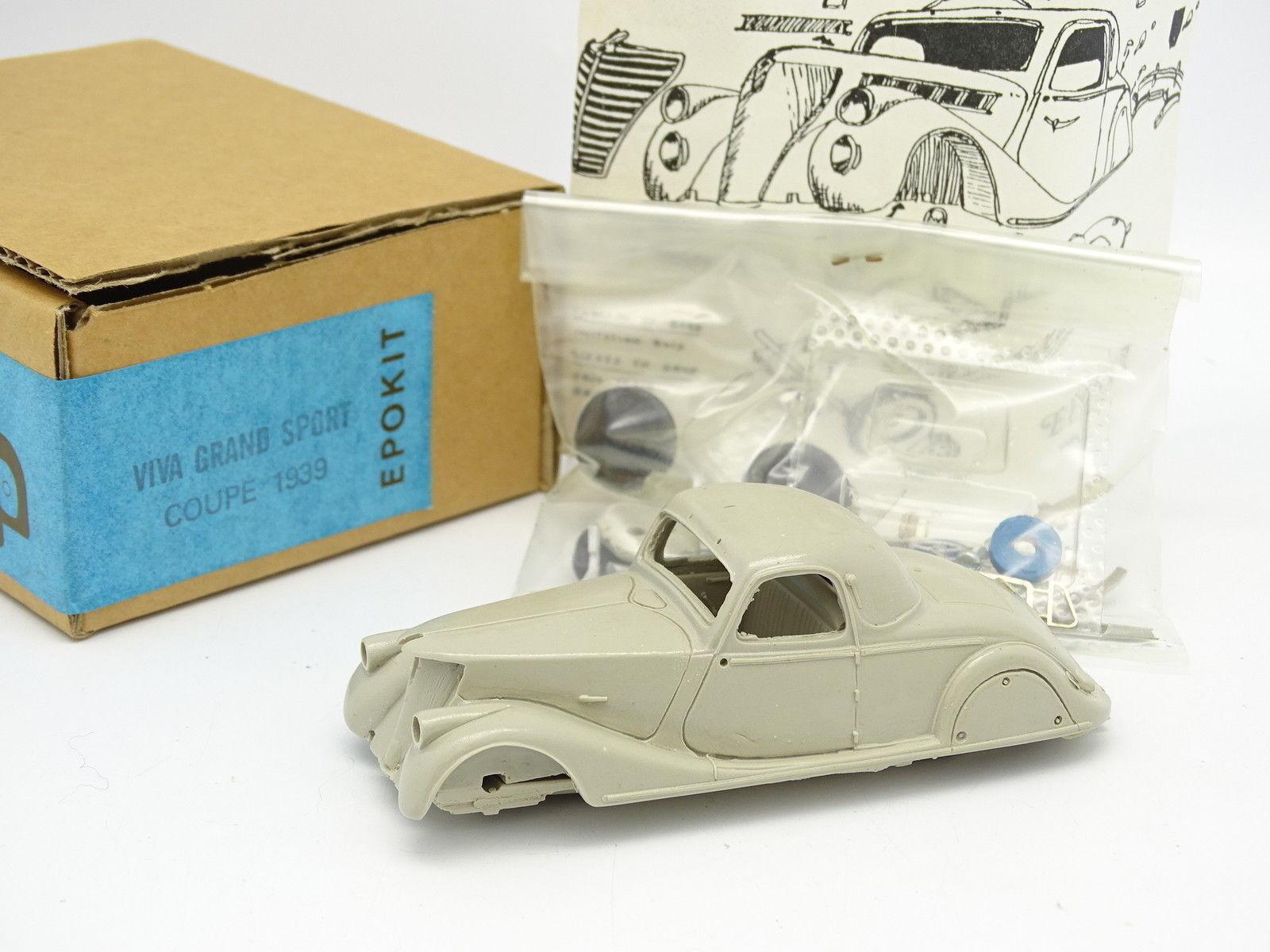 Epokit Kit à Monter 1 43 - Renault Viva Grand Sport 1939