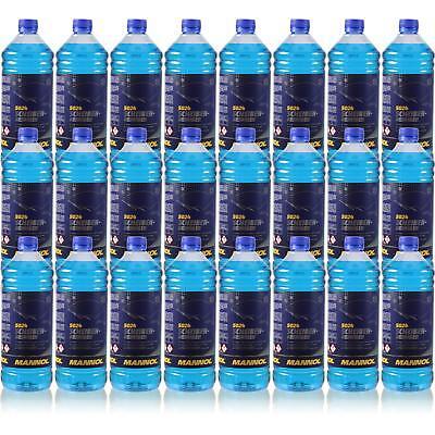 Analitico 24x1 Litro Originale Mannol 5024 Dischi-detergente Per -70 ° C Antigelo Concentrato-ger -70 °c Frostschutz Konzentrat It-it Evidente Effetto