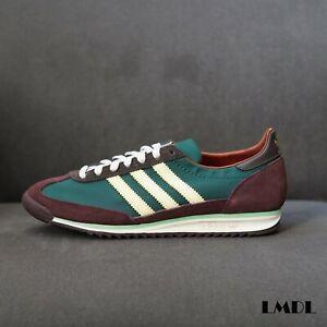 Details about RARE adidas Originals WALES BONNER SL 72 Shoes Hemp Maroon Orange FX7515