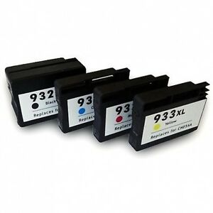 Image Is Loading 4 Chipped Ink Cartridge 932XL 933XL For HP