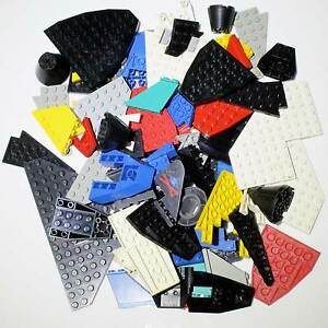 LARGE-BAG-MIXED-COLOUR-LEGO-WINGS-BASES-BOATS-PARTS-ABOUT-1-4-KG-SOME-VINTAGE