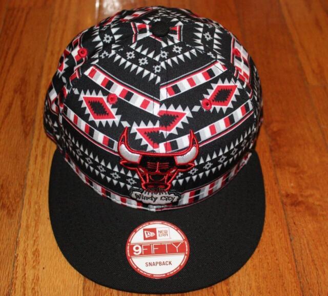 lowest price 2a316 d9a19 Chicago Bulls NBA Hardwood Classics Tri-All 9Fifty New Era Snapback Hat Cap   H2
