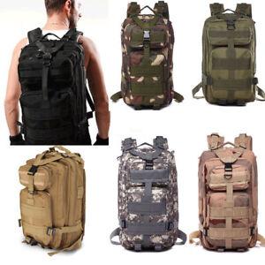 Men-039-s-Outdoor-Military-Camping-Tactical-Backpack-Hiking-Trekking-Bag-Rucksack-SH