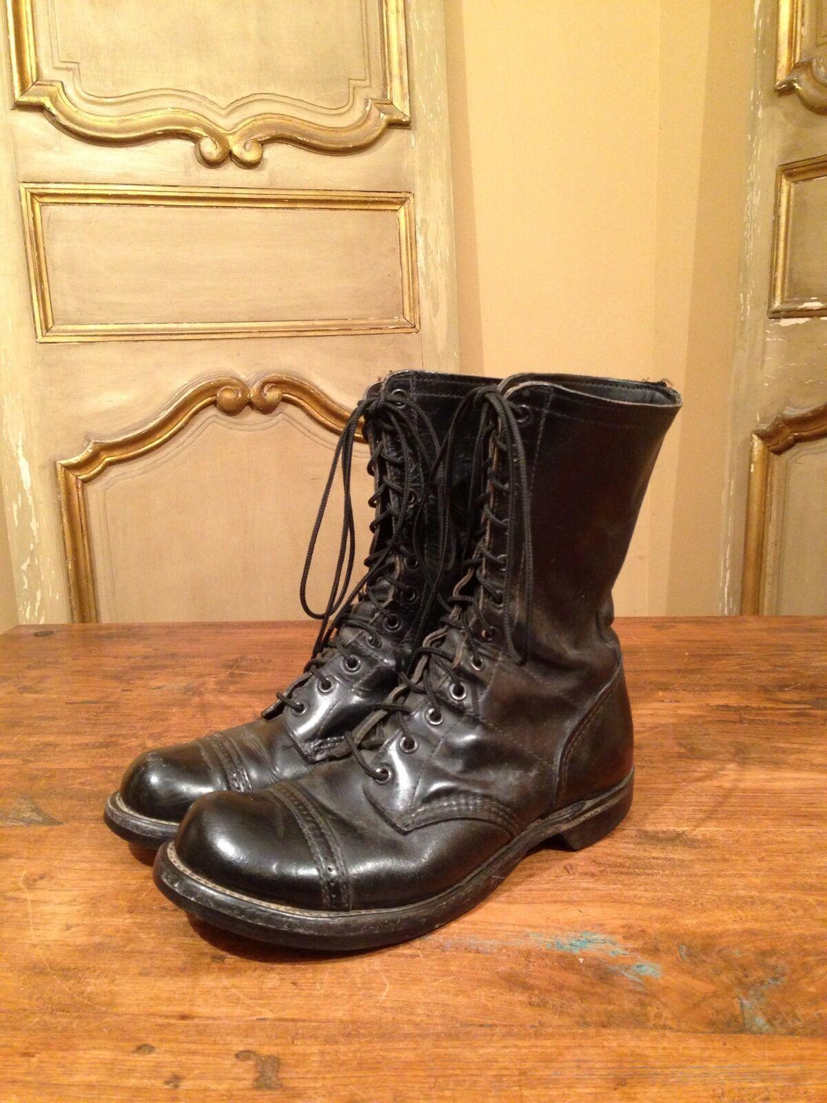 565a0deae43e 1964 Vietnam Military Military Military Army Johnny Depp Boots Mens 7.5  73620e