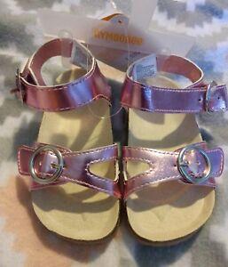 Gymboree-girls-jump-into-summer-matalic-sandals-toddler-size-9-nwt