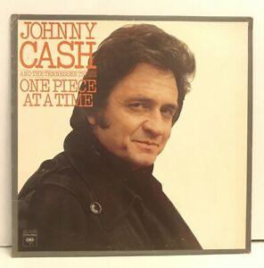 JOHNNY-CASH-LP-Columbia-KC-34193-One-Piece-at-a-Time-12-034-Country-Vinyl-Record