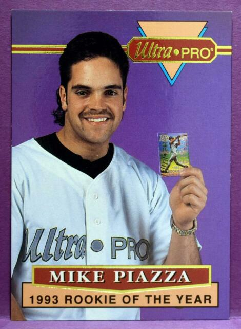 Mike Piazza Los Angeles Dodgers 1994 Ultra Pro Rookie Of The Year Promo Card