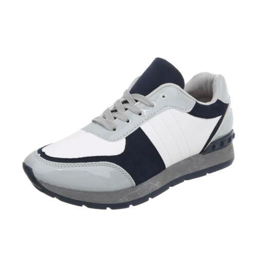 Sneakers Freizeitschuhe Sneakers Low Damenschuhe 1824 Ital-design