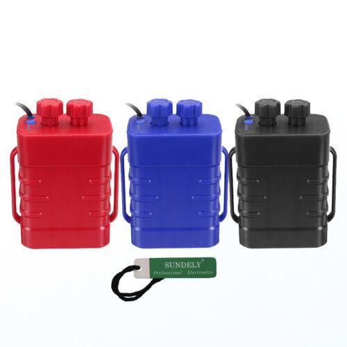 6x18650 Battery Storage Case Box Holder Waterproof For Bike LED Light Outdoor UK