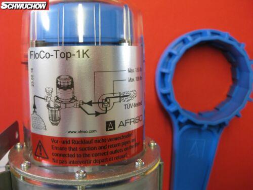 Schlüssel Afriso 69960 Heizöl Filter Ölfilter Heizölentlüfter FloCo-Top-1K SI
