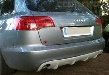 Audi A6 C6 4F Avant Heckdiffusor Diffusor RS6 Look 05-08 mit Einfachendrohr l+r