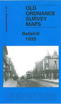 OLD ORDNANCE SURVEY DETAILED MAPS SCOTLAND BELLSHILL  1935 SHEET 11.08 NEW