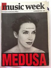 MUSIC WEEK MAGAZINE   25  FEBRUARY 1995  ANNIE LENNOX  MEDUSA   LS
