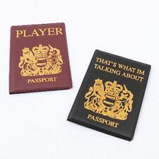 Passport Covers Holder Boyz Toyz Novelty Joke Gift Stag Party Set of Two