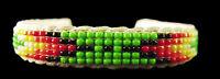 Spring Green Beaded Baby Bracelet - Navajo Handmade